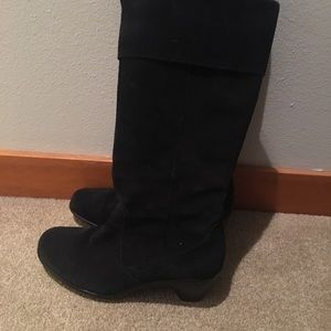 Dansko Shoes - Dansko black suede boots
